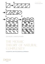 The Mosaic Theory of Natural Complexity, A scientific and philosophical approach de Georges Chapouthier
