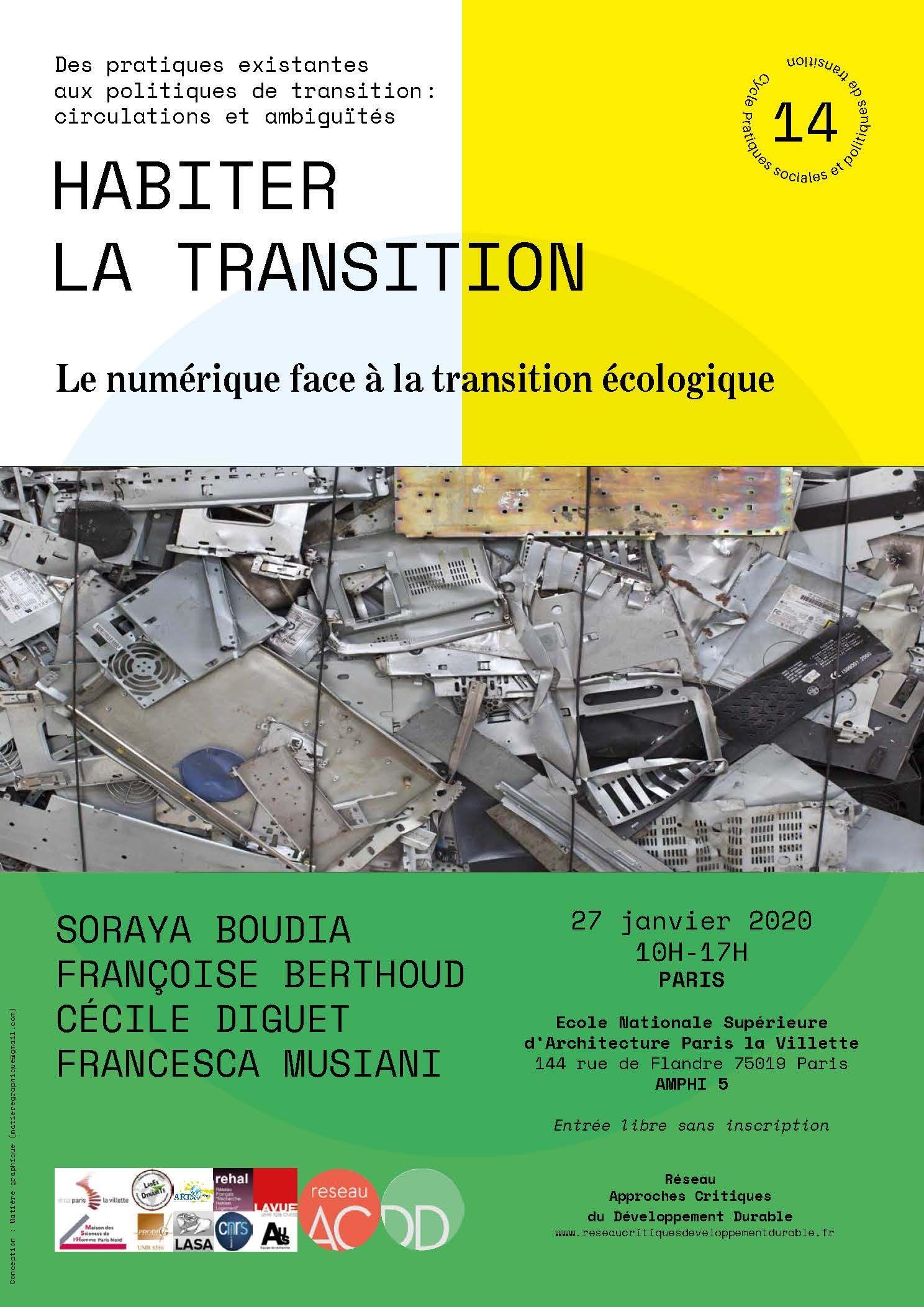 Habiter la transition, Le numérique face à la transition écologique